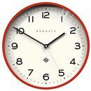 Echo Number Three NEWGATE CLOCKS Retro Clock Red