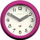 Newgate Clocks Pantry Wall Clock in Hot Pink