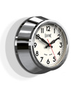 Newgate clocks small electric clock chrome