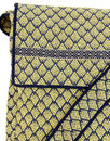 NOMADS Retro 60s Geometric Handlloom Satchel Bag M