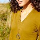 Patina Loop NOMADS Handmade Necklace In Biscay