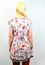 Bird of Peace NOMADS Retro 60s Floral Tunic Top