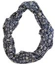 NOMADS RETRO MOD 60s CIRCLE SCARF SMOKE