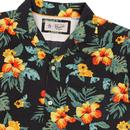 ORIGINAL PENGUIN 70's Tropical Floral Resort Shirt