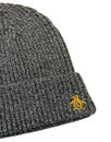 ORIGINAL PENGUIN Twisted Yarn Ribbed Beanie Hat