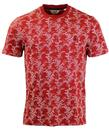 ORIGINAL PENGUIN RETRO BAMBOO PRINT T-SHIRT