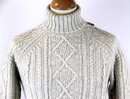 ORIGINAL PENGUIN Mod Cable Knit Turtleneck Jumper