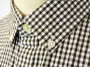 Belam ORIGINAL PENGUIN Retro Mod Gingham Shirt DB