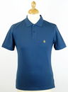 ORIGINAL PENGUIN RETRO MOD SLIM DADDY POLO BLUE