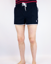 Solid Box ORIGINAL PENGUIN Retro 70s Swim Shorts B