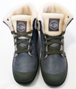 Baggy Leather S PALLADIUM Retro Womens Boots (GP)