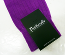 + PANTHERELLA Ribbed Retro Colour Block Socks (SP)