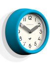 Pantry NEWGATE Retro Matte Wall Clock (Aqua Blue)