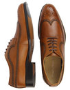 Ryan PAOLO VANDINI Wingtip Leather Brogue Shoes