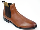 PAOLO VANDINI GREIG CHELSEA BOOTS TAN MOD 60s BOOT