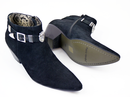 Veer Pavel PAOLO VANDINI Mod Lion Chelsea Boots BS