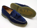 Quaker PAOLO VANDINI Suede Mod Tassel Loafers (N)