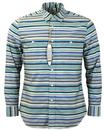 PENDLETON BEACH BOYS BOARD SURF SHIRT BLUE
