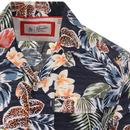 ORIGINAL PENGUIN Retro 70s Floral Cuban Shirt (DS)