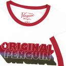 ORIGINAL PENGUIN Retro Drop Shadow Ringer Tee W/R