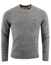 original penguin lambswool jumper dark shadow