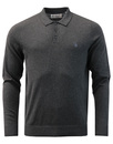 penguin cotton polo dark charcoal heather mod