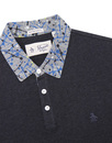 ORIGINAL PENGUIN Retro Mod Paint Splat Collar Polo