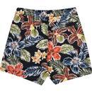 ORIGINAL PENGUIN Retro 70s Big Floral Swim Shorts