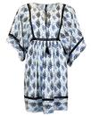 Irene PEPE JEANS Retro Floral Lace Kaftan Dress