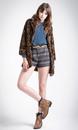 Barnes PEPE JEANS Retro 70s Fleece Style Shorts