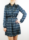 PEPE JEANS LETI RETRO 60S MOD SHIFT TUNIC DRESS