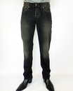 PEPE JEANS MENS CASH DENIM JEANS BLACK STONEWASH