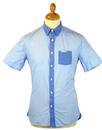 PEPE JEANS MENS DENIM JEANS SHIRT CHAMBRAY SHIRT