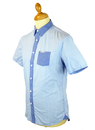 Ridley PEPE JEANS Retro Textured Chambray Shirt