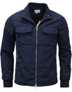 peter werth military jacket navy mod