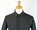 PETER WERTH Retro Mod Hidden Placket Smart Shirt