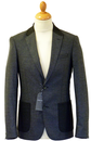 PETER WERTH NORTH BLAZER RETRO MOD HERRINGBONE