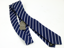 Baron PETER WERTH Retro Mod Stripe Silk Tie (N)