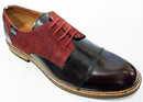 PETER WERTH COPTHORNE MOD BROGUES OXBLOOD 70s