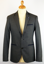 Draper PETER WERTH Retro Mod Piped Blazer Jacket G