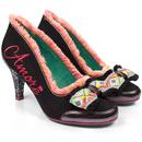Poetic licence that's amore vintage neon heels black