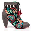 Winters Tale POETIC LICENCE 1960s Paisley Boots