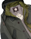 Ashburn PRETTY GREEN Retro 60s Mod Parka Jacket