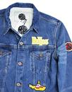 PRETTY GREEN x THE BEATLES Submarine Denim Jacket
