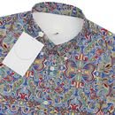 PRETTY GREEN x THE BEATLES Moscow Paisley Shirt