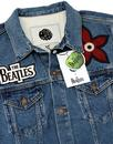 PRETTY GREEN x BEATLES Lonely Hearts Denim Jacket