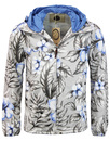 Chilton PRETTY GREEN Retro Floral Hooded Jacket