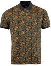 Gretton Paisley PRETTY GREEN Psychedelic Mod Polo