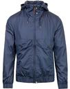 pretty green zip through hooded festival jacket