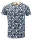 pretty green kingly retro 60s mod paisley t-shirt